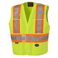 Yellow Hi-Viz Safety Tear-away Vest