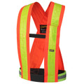 Orange Hi-Viz Safety Sash/Harness