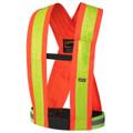 Orange 5593 Hi-Viz Safety Sash/Harness
