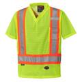 Yellow/Green 5997 Hi-Viz Traffic T-Shirt