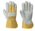 Yellow/Grey Fitter's Cowsplit Glove