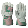 Grey/Green Insulated Fitter's Cowsplit Glove