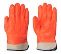 Orange  846 PVC Foam Lined Glove