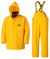 Yellow Flame Resistant PVC Rain Suit
