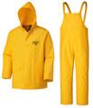 Yellow 578 Flame Resistant PVC Rain Suit