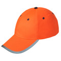 ORANGE HI-VIZ BALL CAP