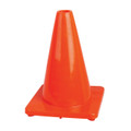"12"" PREMIUM PVC FLEXIBLE SAFETY CONE"