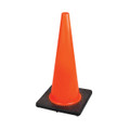 "28"" PREMIUM PVC FLEXIBLE SAFETY CONE"