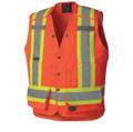 6694 Hi-Viz Surveyor's Safety Vest