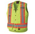 6695 Hi-Viz Surveyor's Safety Vest Yellow