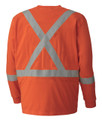 339SFA Flame Resistant Long-Sleeved Cotton Safety Shirt