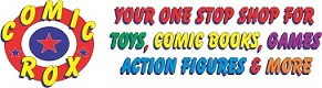 comic store logo