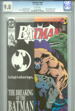 Batman #497 - CGC Graded 9.8