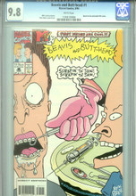Beavis and Butthead #1 - CGC Graded 9.8