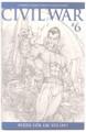 Civil War #6 - Sketch Variant