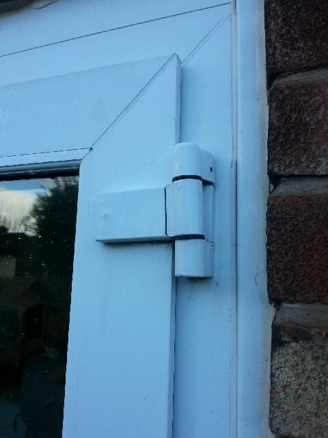 Paddock Neon Flag Hinge For Upvc Double Glazing Doors