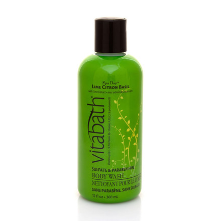 Lime Citron Basil Body Wash 12 fl oz