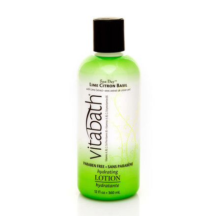 Lime Citron Basil Hydrating Body Lotion 12 fl oz
