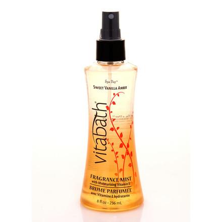 Sweet Vanilla Amber Body Mist 8 fl oz