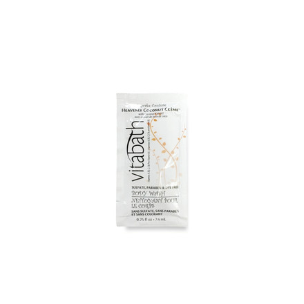 Heavenly Coconut Crème™  0.25 fl.oz Body Wash Packette