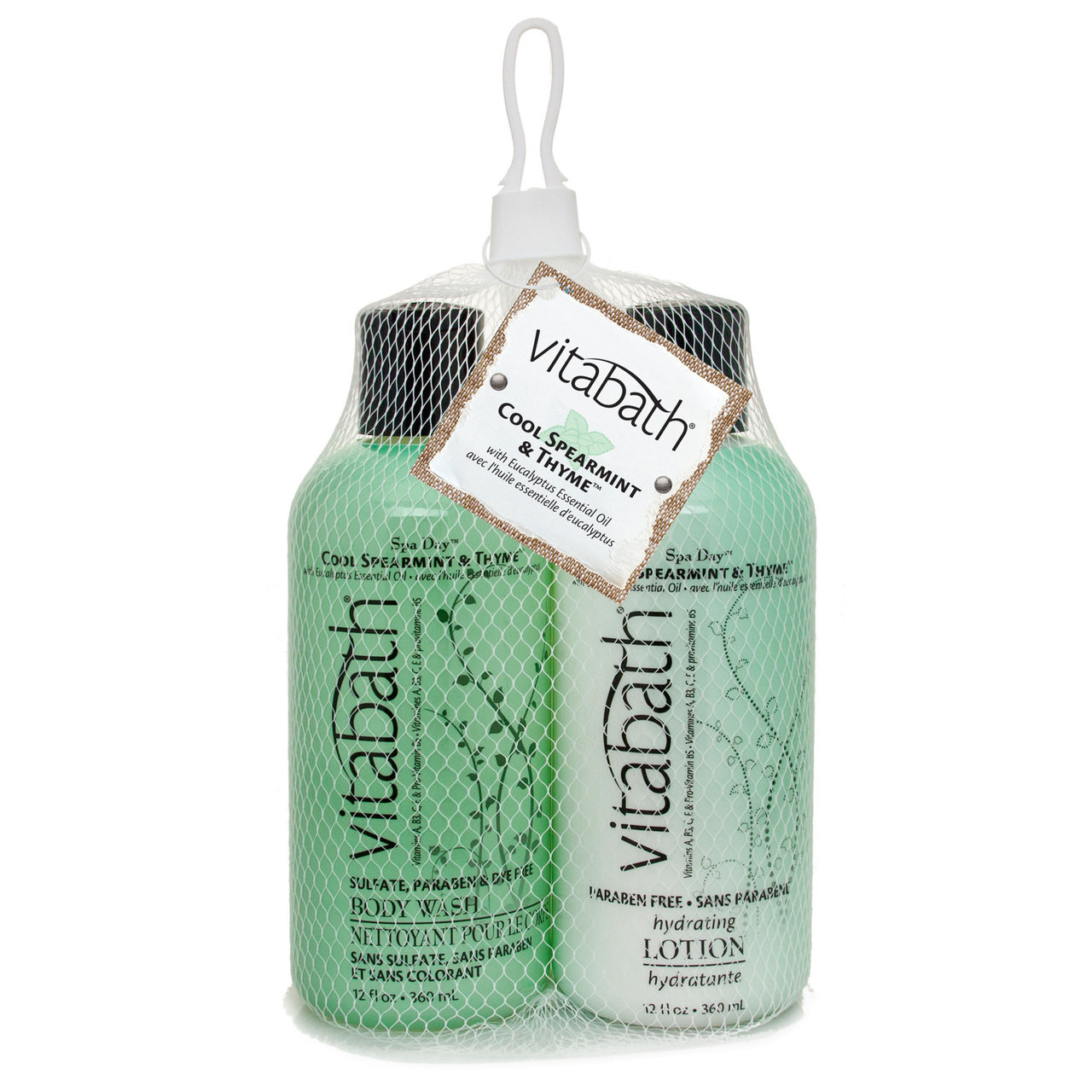 Cool Spearmint & Thyme™ - Fragrance Collection | Vitabath®