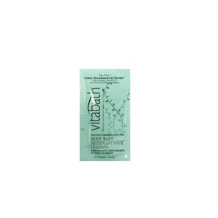 Cool Spearmint & Thyme™ Body Wash Packette 0.25 fl oz