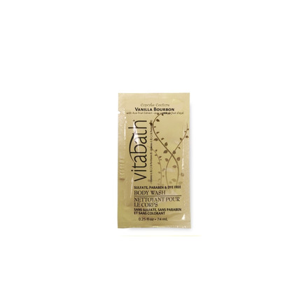 Vanilla Bourbon  0.25 fl.oz Body Wash Packette