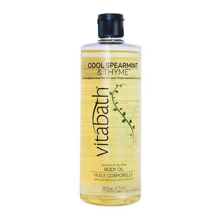 Cool Spearmint & Thyme™ Body Oil 16 fl oz