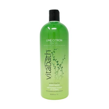 Lime Citron Basil Body Wash – Vitabath Lime Body Wash