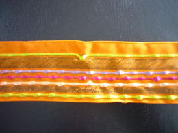 Carnival Orange Ribbon 38mm
