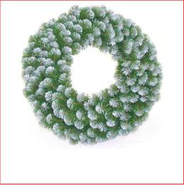 Alberta Spruce Wreath 61cm  Iced