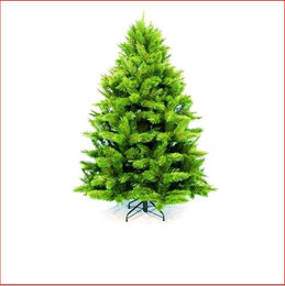 "Edmonton Fir Deluxe 2.13m We have used 3½"" wide cone shaped tips, to create a very plush tree shaped like a Canadian Fir, compact in height and width.  The soft thick tufted tips make these trees great value and a still affordable deluxe Christmas tree.  Priced to suit the family pocket.  Soft tufted tips, perfect to the touch and child friendly.    Branches which come close to the floor.      Colour: Dark Green"