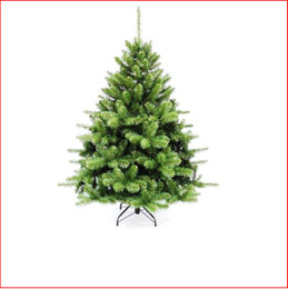 "Norway Spruce 1.52m Perfect for a small apartment or office, the 2ft and 3ft versions are made with a plastic stand, ideal for a coffee table, reception desk or mantelpiece. Soft 2½"" round tips. Available in 4 sizes. Branches reach off the floor.  Colour: Dark Green"