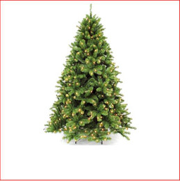 Scandia Spruce 2.13m Hinged Pre-lit 432 Led Lights