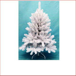 Scandia Spruce 1.22m White Christmas Tree
