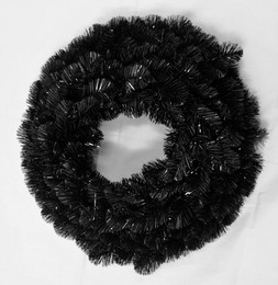 Alberta Spruce Wreath 61cm Black