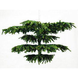Chandelier Christmas Tree Medium hinged