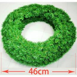 Double Sided Alberta Spruce Wreath 46cm