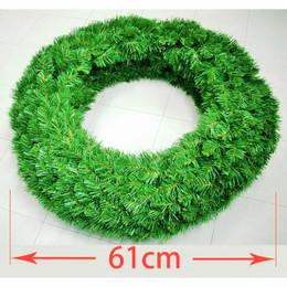 Double Sided Alberta Spruce Wreath 61cm