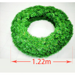Double Sided Alberta Spruce Wreath 1.22m