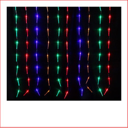 the 80 led mini bubble tube curtain christmas lights are a great size to decorate a
