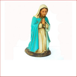 The Poly-resin Nativity Mother Mary is a beautiful central piece for your nativity scene. Also available is Joseph, Nativity Angel and Baby Jesus that are sold separately.