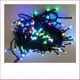 The 160 LED Crystal Christmas Lights Multi Colour are a great size to decorate a medium to large christmas tree or other christmas display pieces like wreaths, garlands, wall trees, topiary balls. The 160 LED Crystal Christmas Lights Multi Colour is a unique shape bulb that gives your lighting and display the perfect touch and different to your next door neighbours christmas display. Decorating with christmas Led fairy lights is endless as the led lights can be used Indoor/Outdoor and you can create to your imagination. Led Lights can be used on your gutter, roof or your palm tree in the front yard. The beauty of the LED Lights is that they are energy efficient and very little power is used and you can enjoy a joyful Merry Christmas at low energy cost. Christmas Lights don't have to be used at christmas time only, you can use them for a special event like a birthday, party or any celebration.