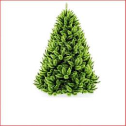Appalachian Pine Deluxe Christmas Tree 2.28m