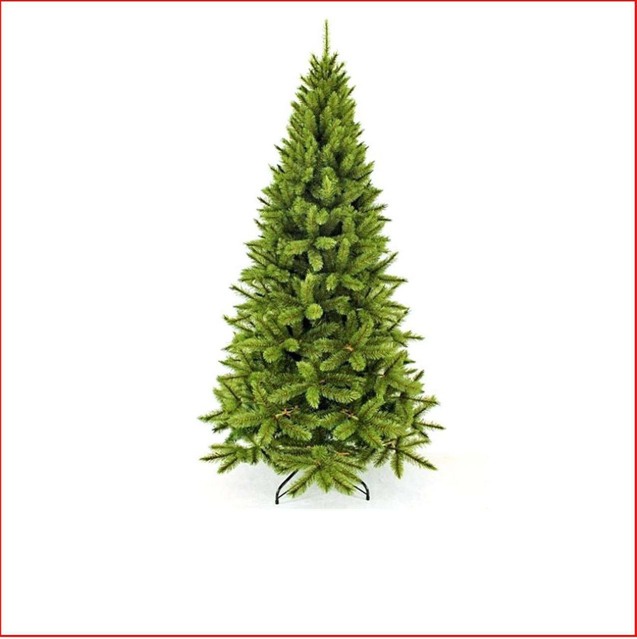 Christmas Tree Needles: Virginia Pine 2.13m Slim Hard Needle Christmas Tree
