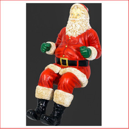 The Polyresin Santa For Sleigh Jumbo