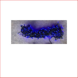 The 280 LED Lights Blue are a great size to decorate a small christmas tree or other christmas display pieces like wreaths, garlands, wall trees, topiary balls. Decorating with christmas Led fairy lights is endless as the led lights can be used Indoor/Outdoor and you can create to your imagination. Led Lights can be used on your gutter, roof or your palm tree in the front yard. The beauty of the LED Lights is that they are energy efficient and very little power is used and you can enjoy a joyful Merry Christmas at low energy cost.