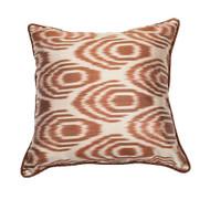 Ikat Pillow Deregozu Cream