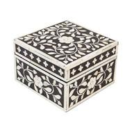 Indian Jewelry Box Black