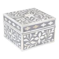 Jewelry Box Indian Grey